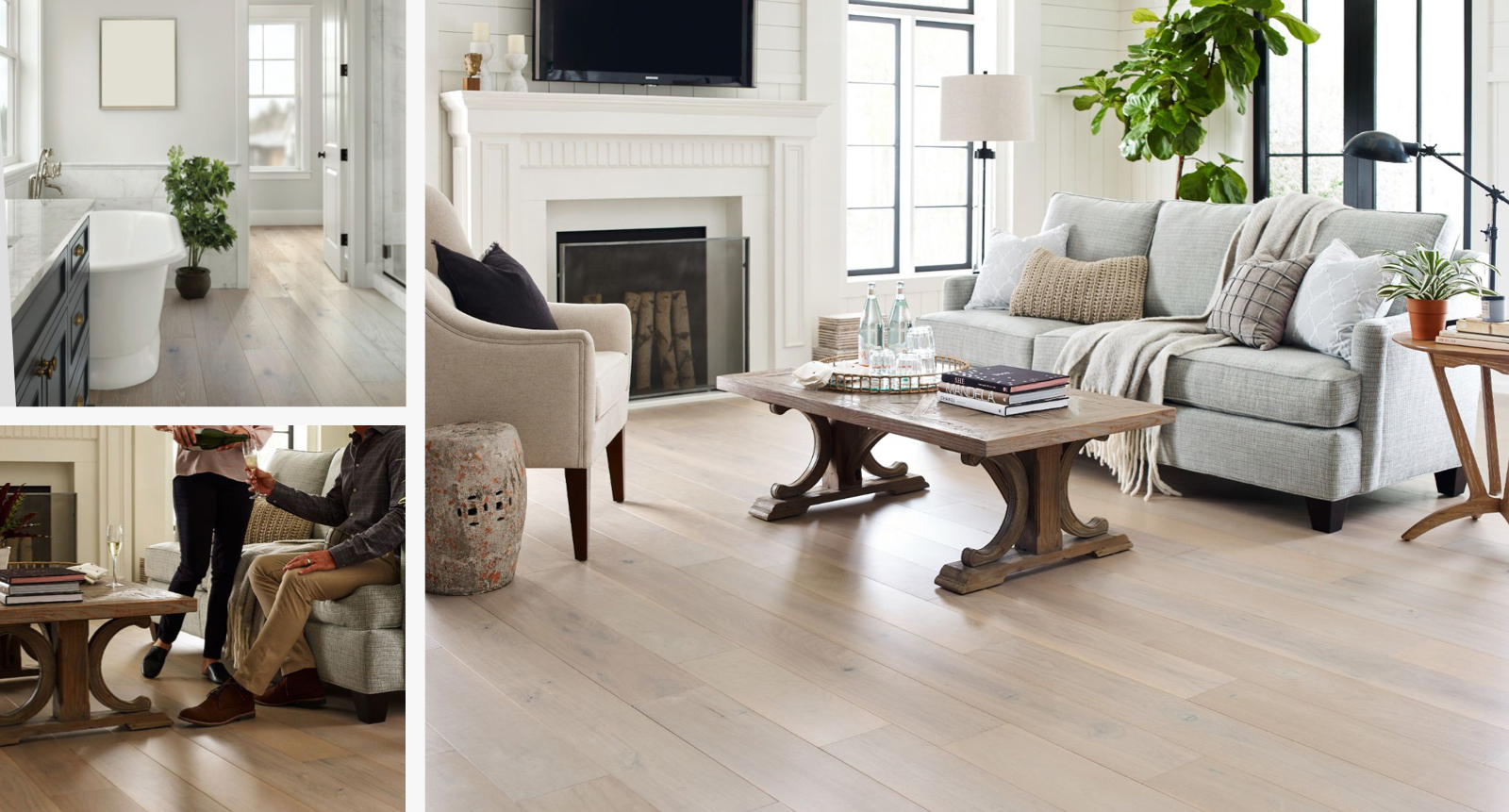 Floorte waterproof hardwood flooring for your home | Colonial Interiors